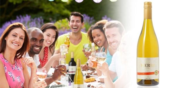 Profitez d'un barbecue sans alcool avec la gamme de vins désalcoolisés Pierre Zéro de Chavin