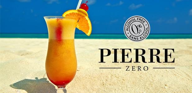 Recettes de Cocktail sans alcool à base de vins sans alcool Pierre Zéro