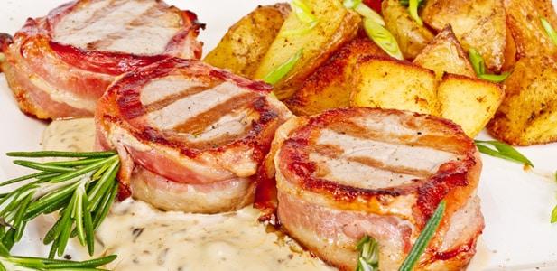 Recette filet mignon de porc au vin blanc désalcoolisé