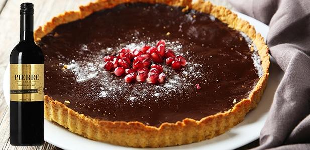 Accord tarte au chocolat et Pierre Zéro Grande Réserve Rouge