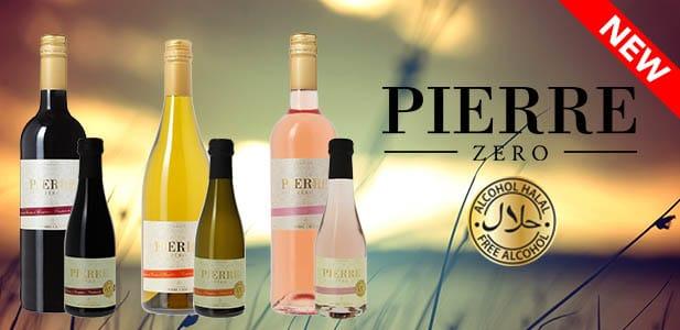 Nouveauté : les vins sans alcool Pierre Zéro en bouteille de 20cl