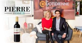 Pierre Zéro, invité sur la Quotidienne France 5