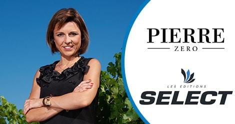 Article Editions Select - Gamme de vins sans alcool Pierre Zéro