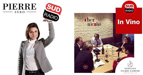 Mathilde Boulachin présente pierre Zéro dans In Vino sur Sud Radio