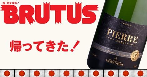 Pierre Zéro récompensé dans le magazine japonais BRUTUS