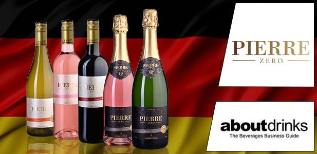 Aboutdrinks: Pierre Zéro, Le plaisir des vins et des mousseux sans alcool arrive en Allemagne